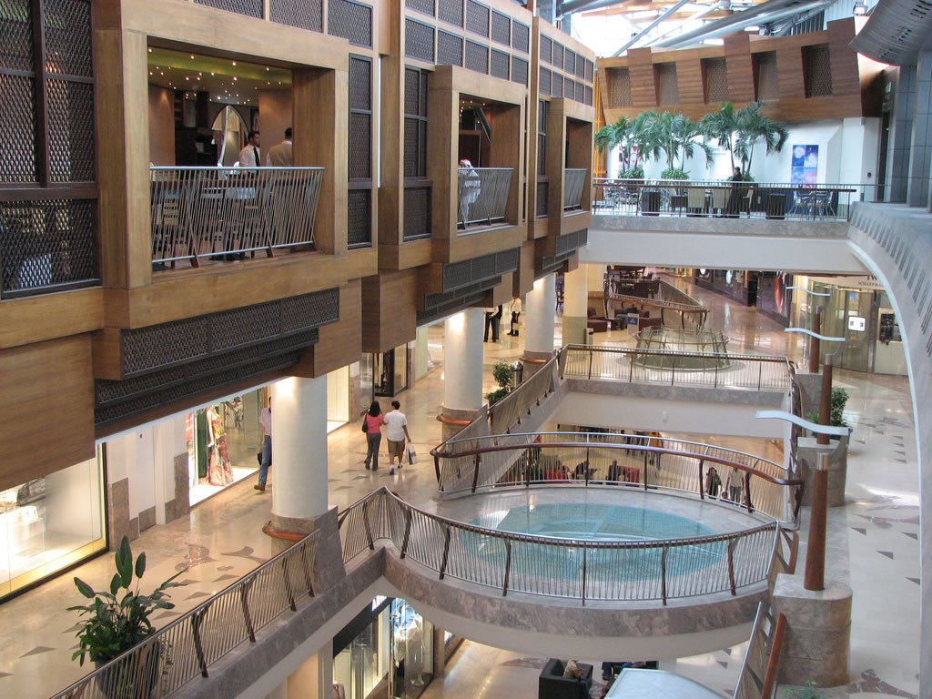 in the The malls largest 7 shopping East Middle