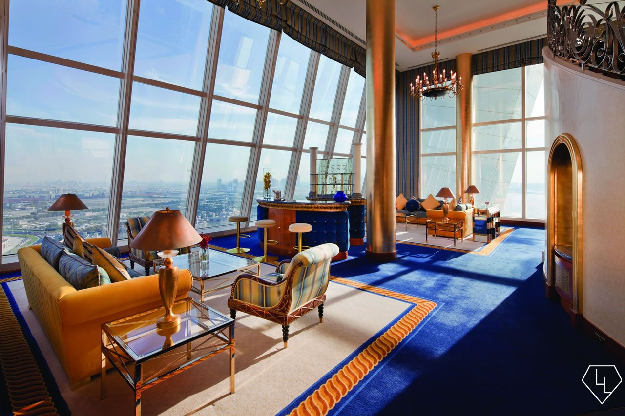Suite of the week the deluxe one bedroom suite at burj for Burj al arab suite
