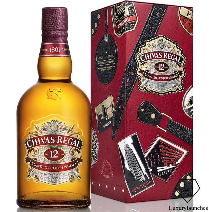 Chivas Made for Gentlemen by Globe-Trotter Limited Edition Gift Tin