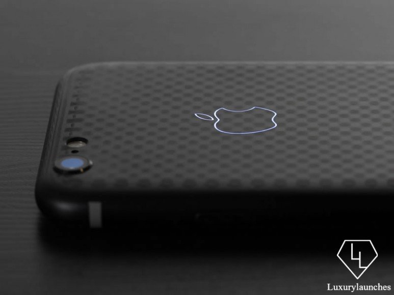 Coultury Carbon Fiber Black Label iPhone 6 (6)