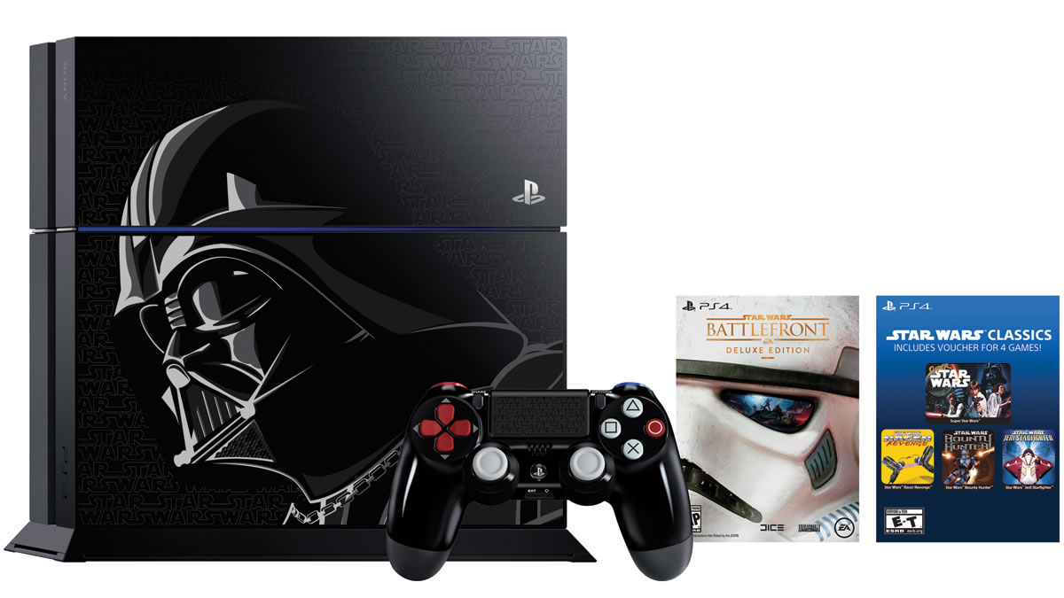 Darth Vader PS4 edition 2