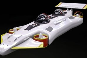 DeepFlight Dragon personal submarine 1