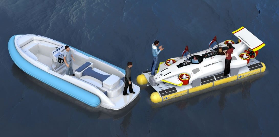 DeepFlight Dragon personal submarine 4