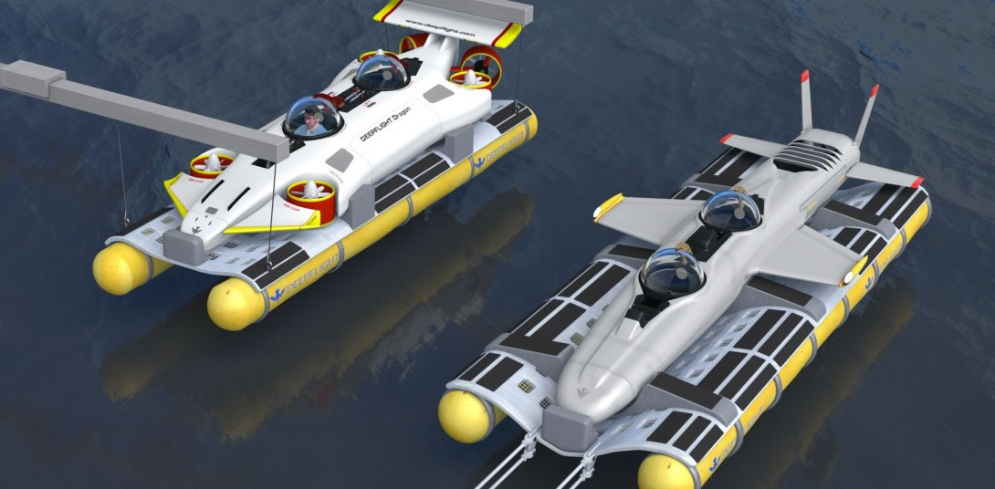 DeepFlight Dragon personal submarine 5