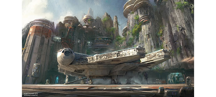 Disney Star Wars-themed parks 2