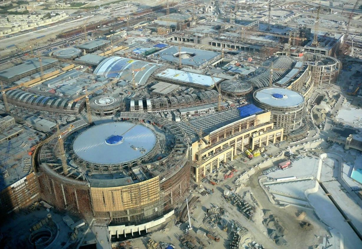 The 7 largest shopping malls in the middle east for Videos dubai