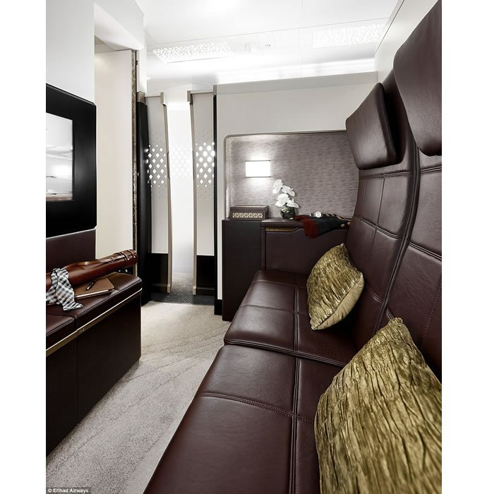 Etihad The Residence lounge area