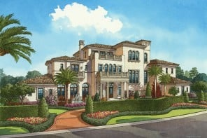 Golden Oak private residences at Walt Disney World Resort