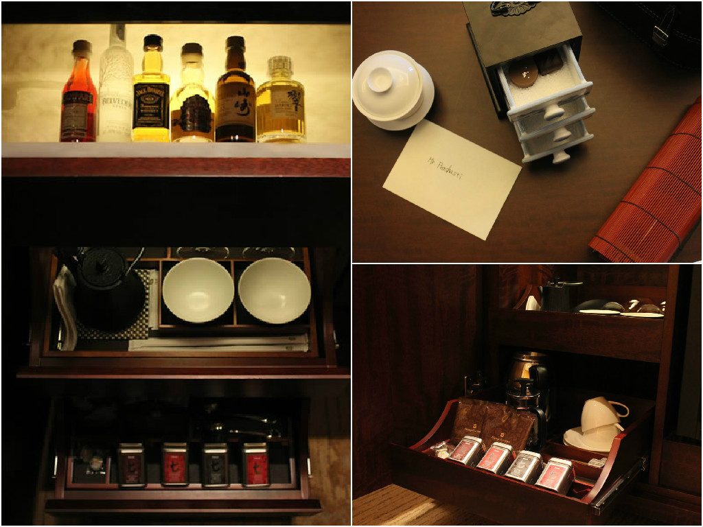 Tea and tippling accouterments