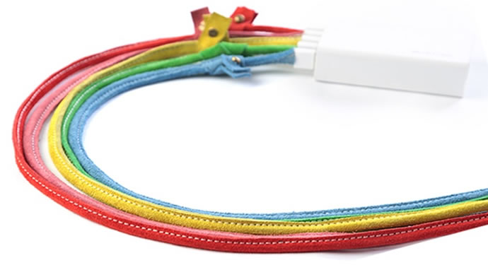 Handmade leather charging cables 4