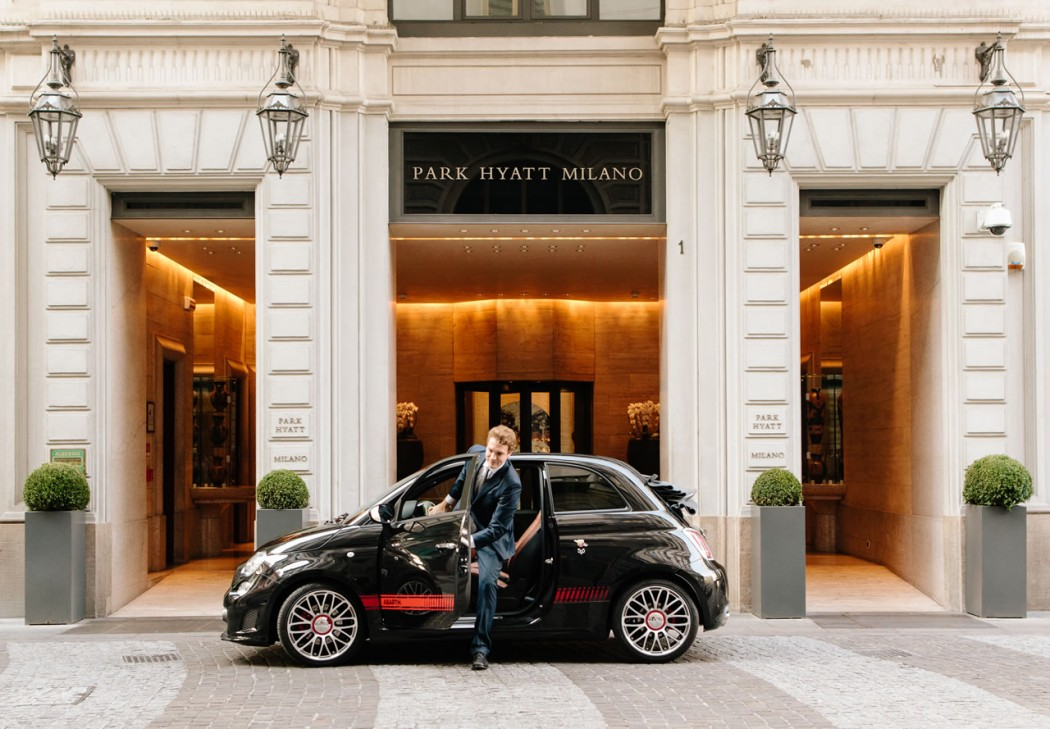 Expo Milan Stands : Now park hyatt milano guests can cruise around milan in