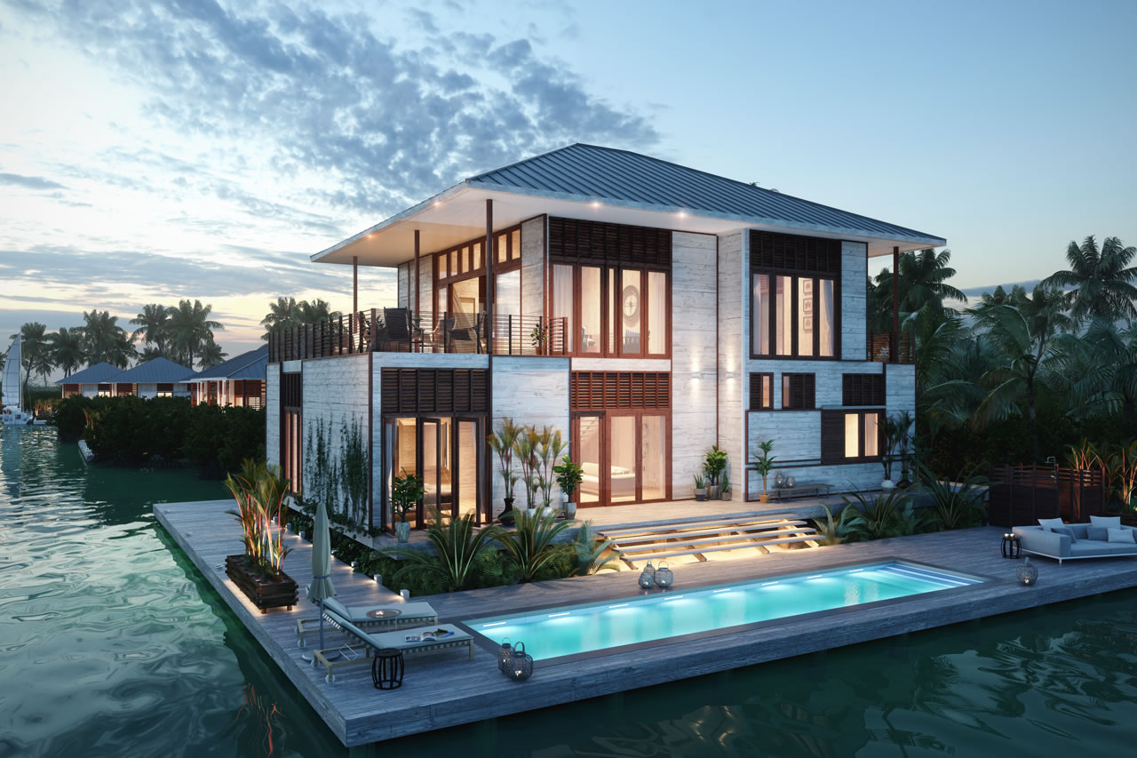 Belize Beachfront Homes For Sale By Owner