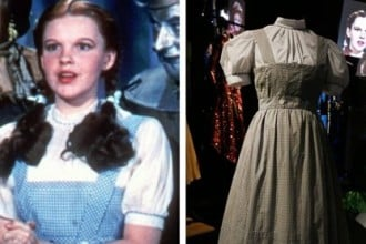 Judy Garland sweat-stained dress 1