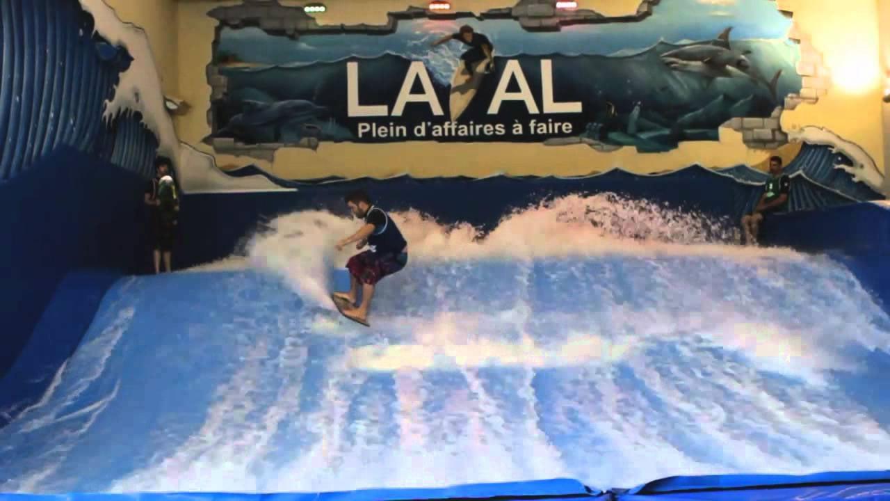 Maeva Surf indoor surfing Montreal