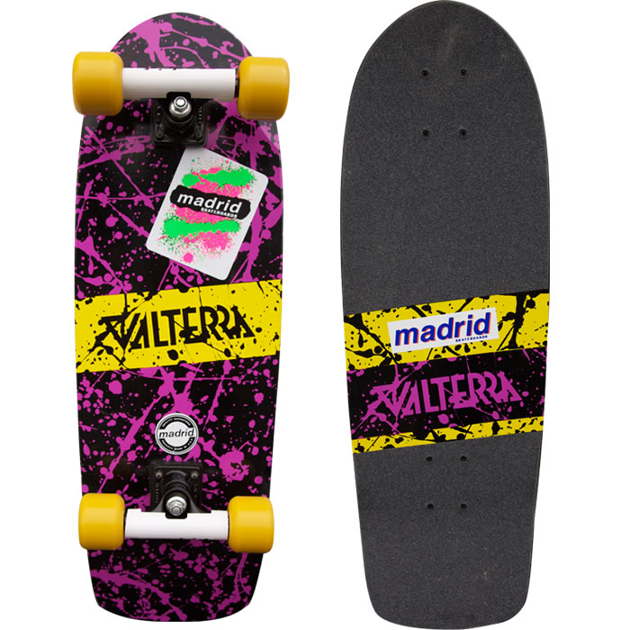 Marty McFly Madrid or Valterra skateboard 1