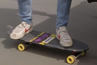 Marty McFly Madrid or Valterra skateboard 2
