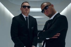 Men In Black and All Blacks dominate in Air New Zealand safety video