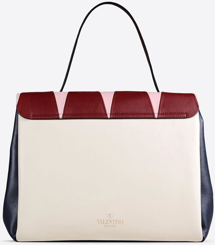 Multicolored debonair Valentino arm bag 2