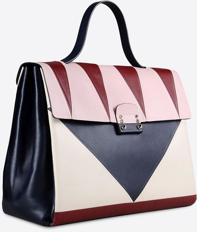 Multicolored debonair Valentino arm bag 4