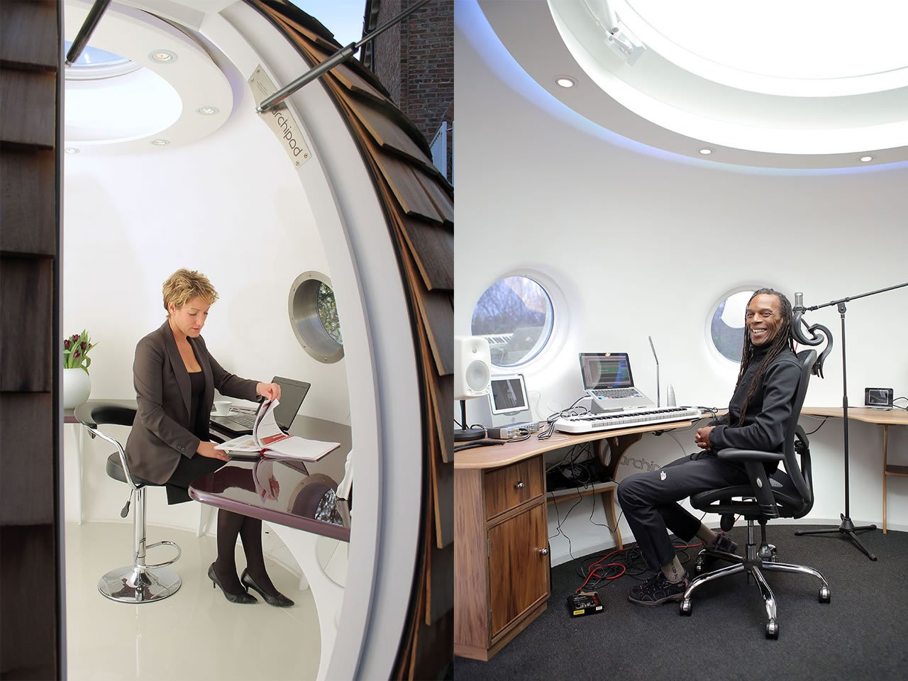 meet podzook the personalized pod for work play meditation or