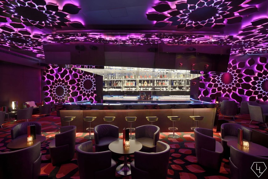 Design Notes A Look Inside The Trippy Razzmatazz Bar At