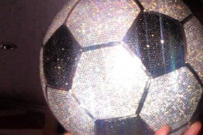 Real Madrid Kim Benzema diamond football
