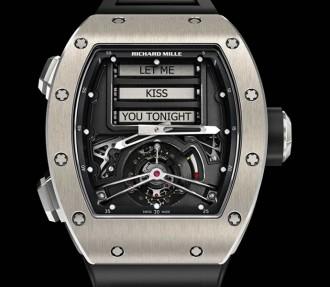 Richard Mille RM 69 Erotic Tourbillon watch 1