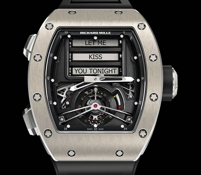 Richard Mille Spreads The Love With The RM 69 Erotic