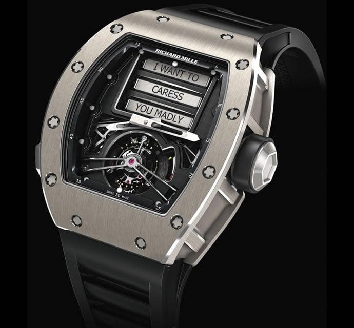 Richard Mille RM 69 Erotic Tourbillon watch 2