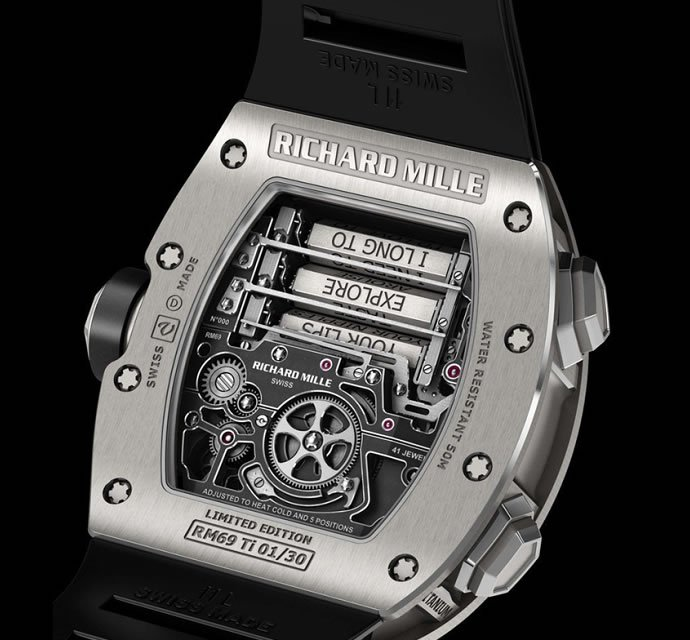 Richard Mille RM 69 Erotic Tourbillon watch 3