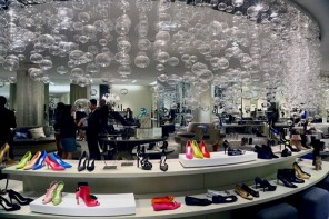Saks Fifth Avenue debut in shoe 1