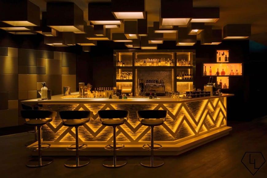 Studio Grigio restaurant at the Intercontinental Davos Bar01
