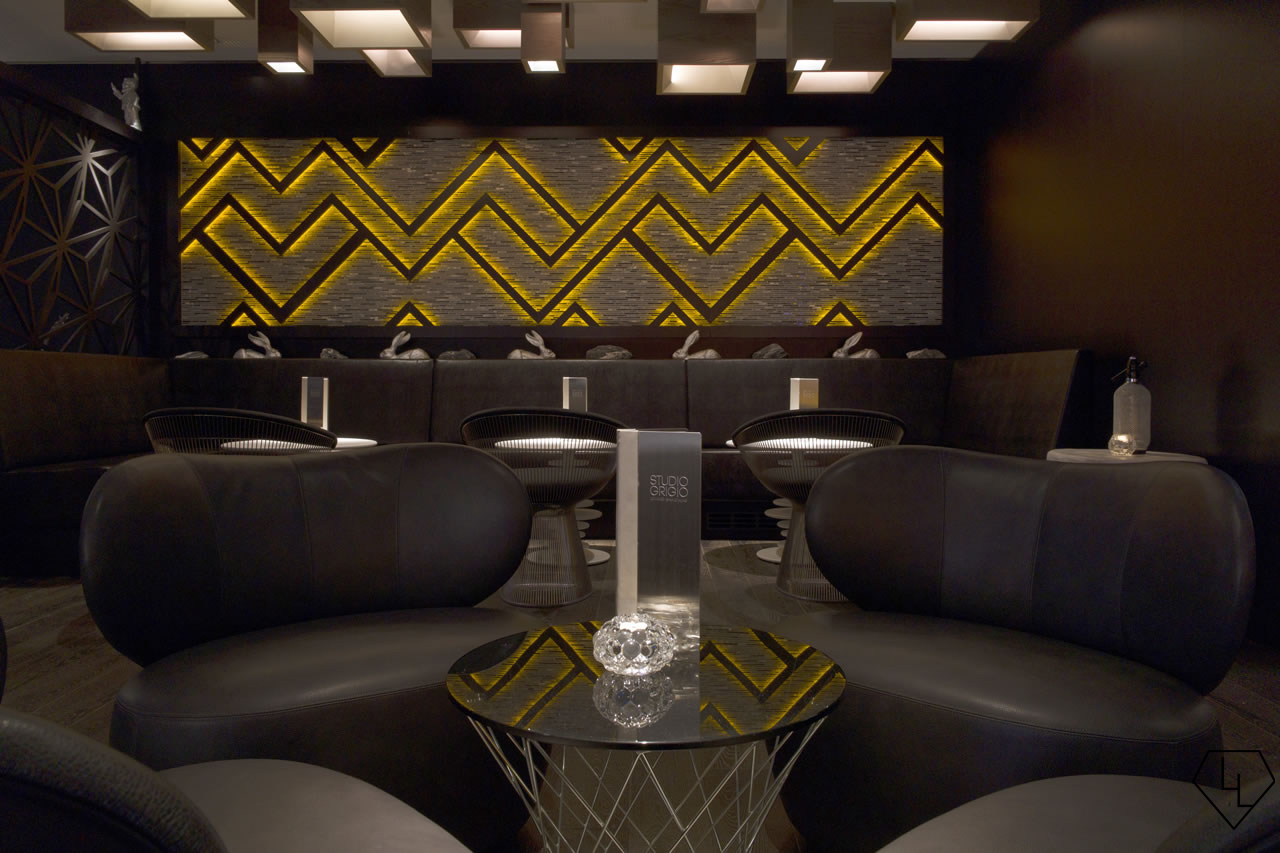 Studio Grigio restaurant at the Intercontinental Davos Bar02