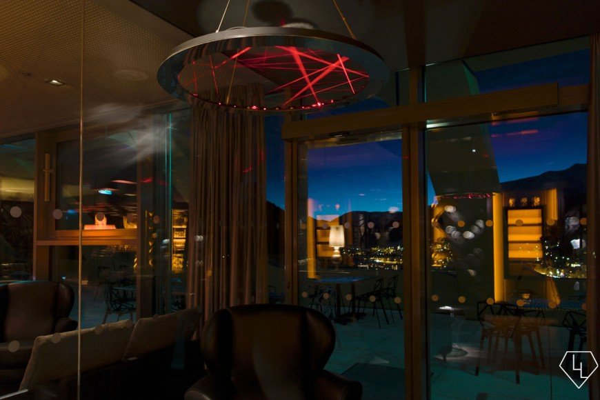Studio Grigio restaurant at the Intercontinental Davos Cigarroom01