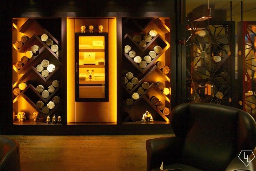 Studio Grigio restaurant at the Intercontinental Davos Cigarroom02