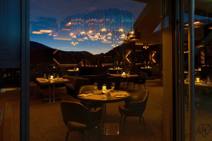 Studio Grigio restaurant at the Intercontinental Davos Restaurant01