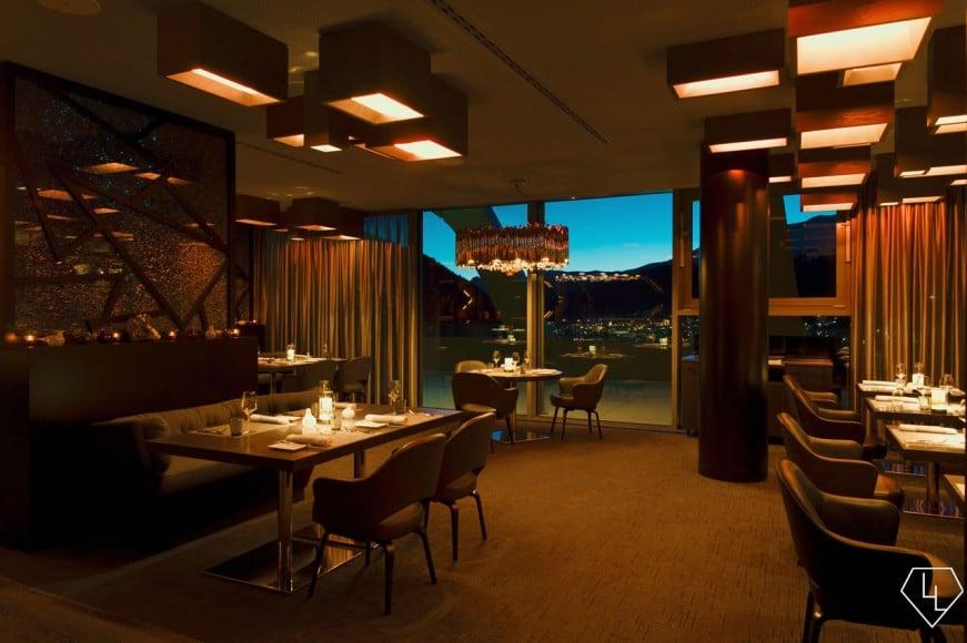 Studio Grigio restaurant at the Intercontinental Davos Restaurant02