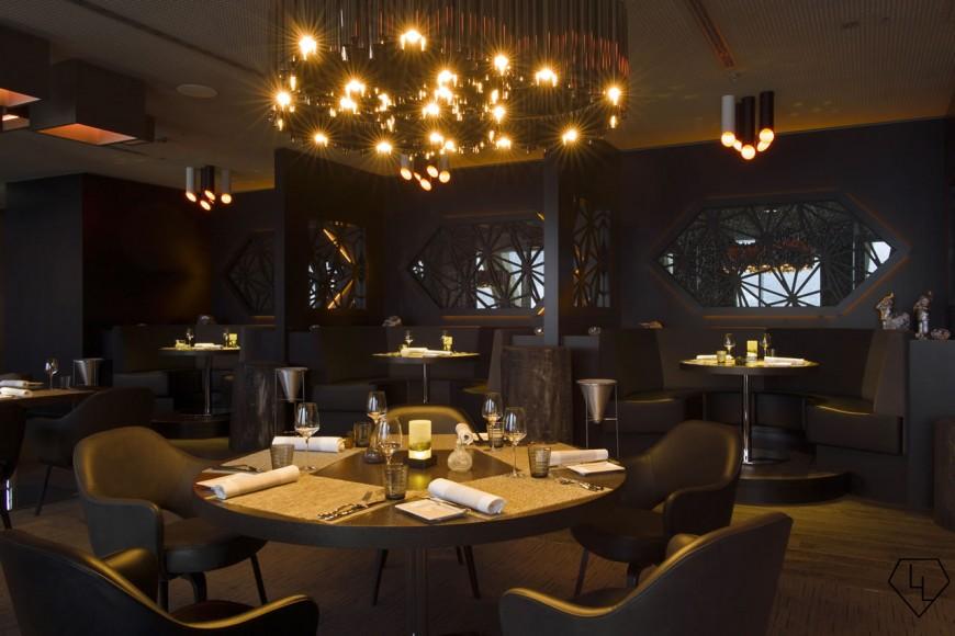 Studio Grigio restaurant at the Intercontinental Davos Restaurant03