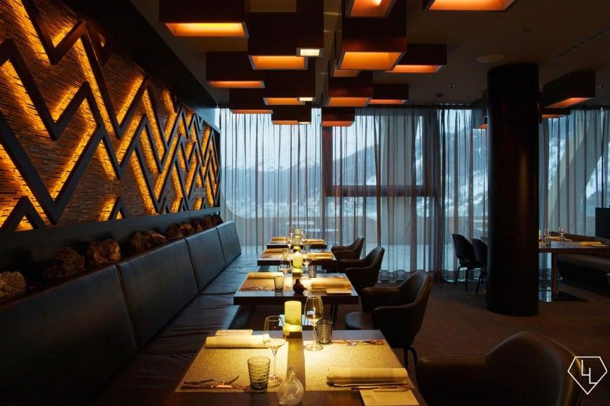 Studio Grigio restaurant at the Intercontinental Davos Restaurant04