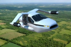 TF-X flying car from Terrafugia