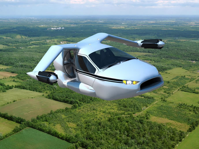 The autonomous flying car from Terrafugia could be the future of personal transportation in the next decade : Luxurylaunches