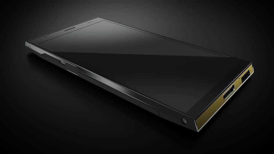 Turing Phone made with Liquid metal 3