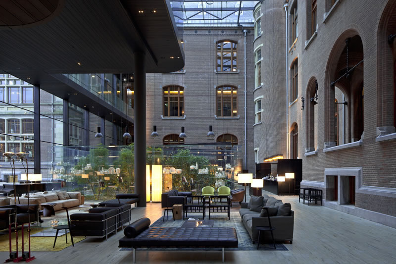 Van Gogh at the Conservatorium Hotel Amsterdam 2