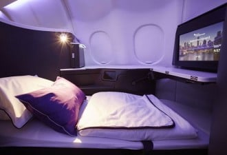 Virgin Australia Business Class cabin 1