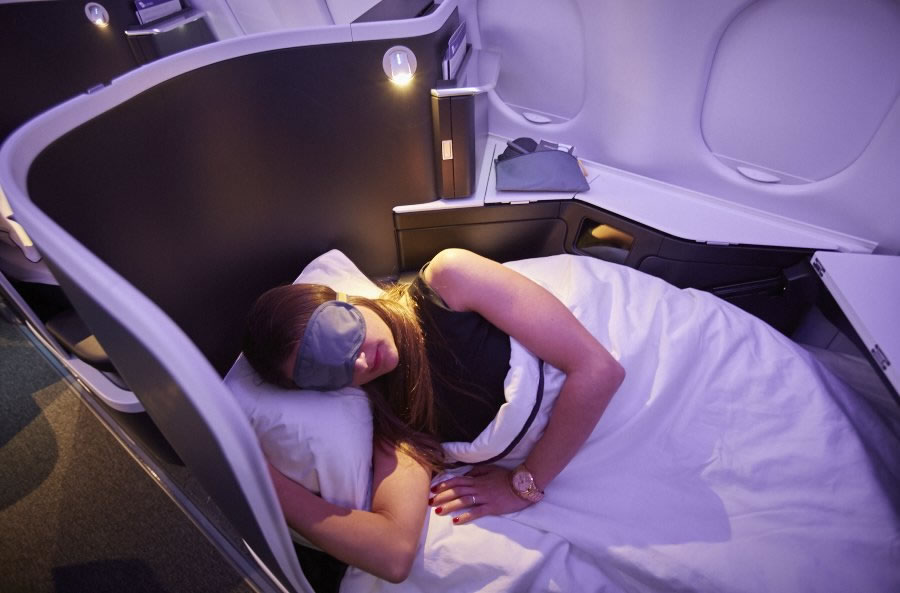 Virgin Australia Business Class cabin 3