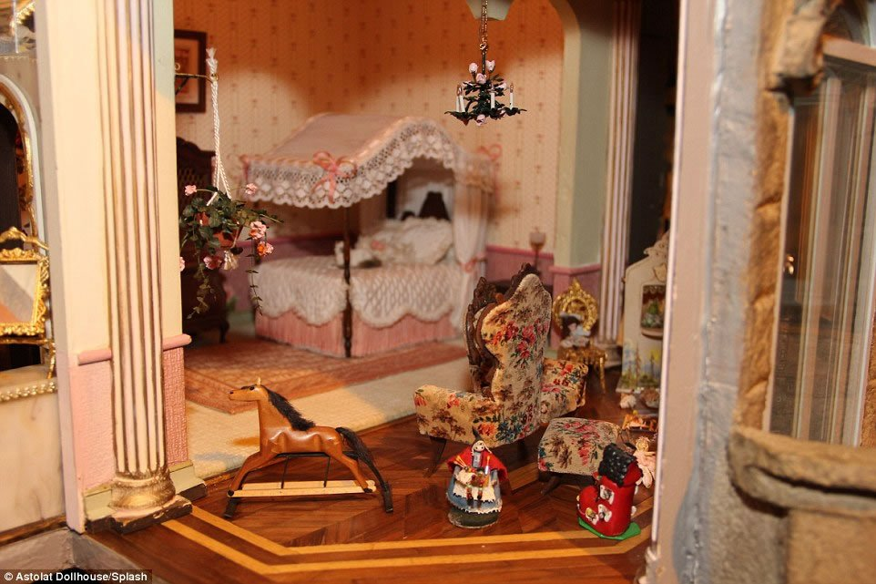 handcrafted interior pieces and 29 rooms the priciest doll house 1