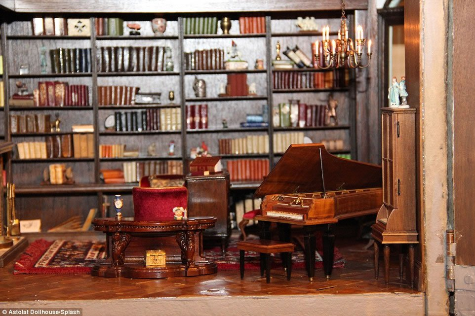 handcrafted interior pieces and 29 rooms the priciest doll house 10