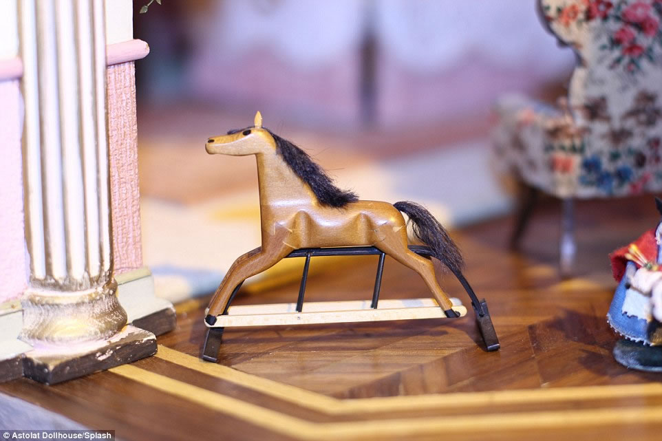 handcrafted interior pieces and 29 rooms the priciest doll house 13