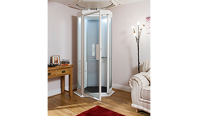 Traversing your home just got easier and sophisticated for Simple home elevators