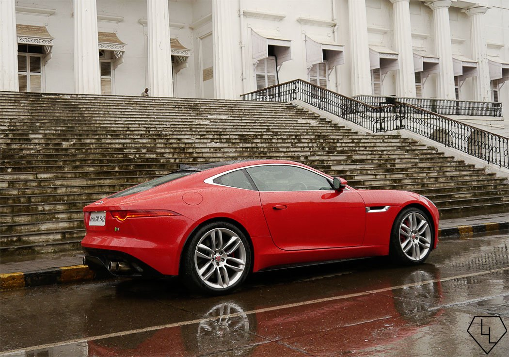 F Type Coupe >> Scandalous in red - 48 hours with the Jaguar F-Type Coupe R in Mumbai